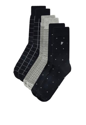 圖樣印花襪子esprit官網組合, 服飾, 服飾