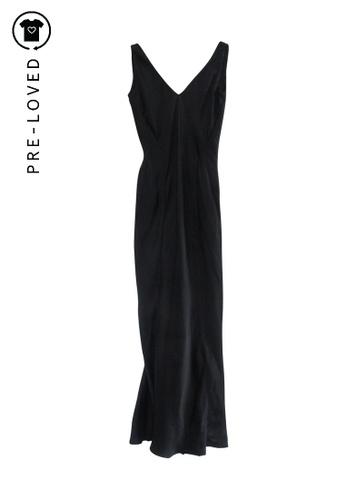 Narcisco Rodriguez black Pre-Loved narcisco rodriguez Black Dress F8156AA72B0AEBGS_1