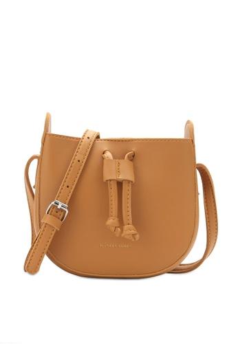 PLAYBOY BUNNY orange Drawcord Sling Bag 21B6DAC0EB87ABGS_1