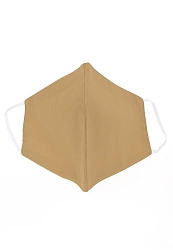 Hamlin beige Hamlin Vente Masker Earloop Washable Non Medis Waterproof Anti Bakteri Material Cotton ORIGINAL 7E42DESC39C0C2GS_1