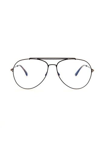 1ee3f8950ba Tom Ford blue TOM FORD FT0497 001 Eyeglasses 19C71GL40BD289GS 1