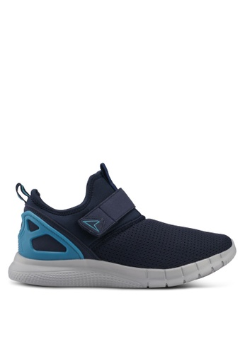 Power green and blue Power Mens Running Shoes 01295SH2C1D3FBGS_1