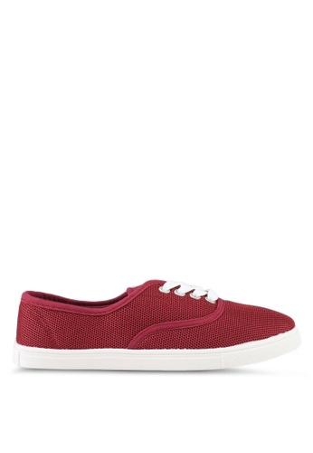 Rubi red Juno Plimsolls Sneakers 71DADSH5574E80GS_1