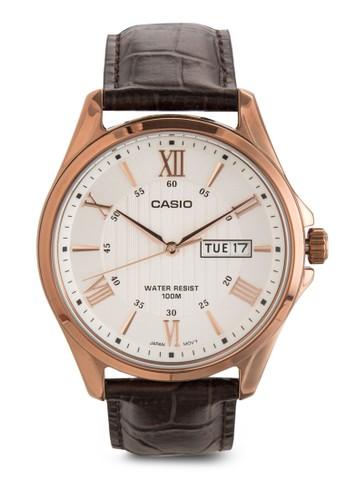 Enticer 羅馬數字男士行針手esprit 品牌錶, 錶類, 飾品配件