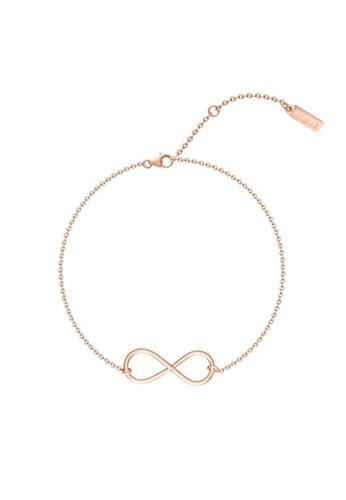 with product name symbol mynamenecklace infinity bracelet engraved jumbo