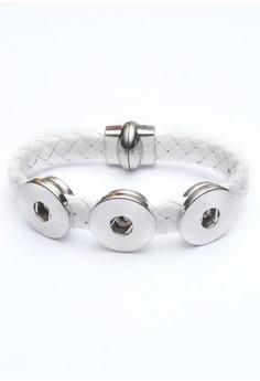 Woven 3-Snap Bracelet