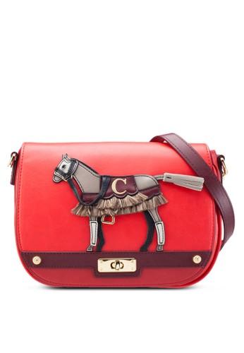 小馬斜背馬鞍包、 包、 包lapalette小馬斜背馬鞍包最新折價
