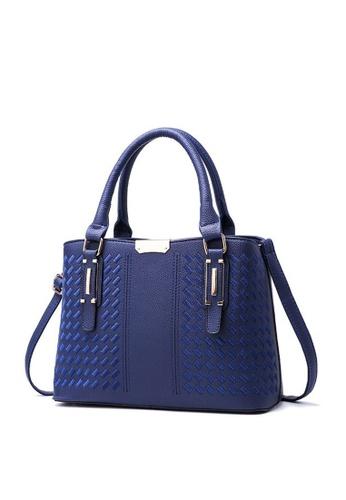 TCWK blue TCWK Korea Style Women Fashion Ladies Handbag - Blue  1553CACB3EBFFCGS 1 365d04142255a