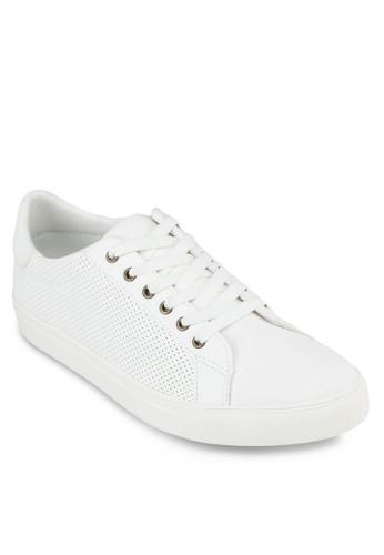 仿皮拼接厚底休閒鞋, zalora時尚購物網的koumi koumi鞋, 休閒鞋