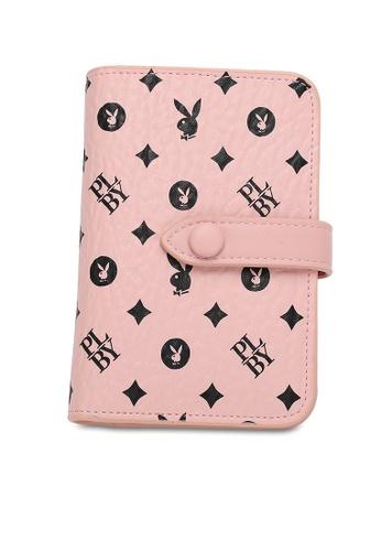 PLAYBOY BUNNY pink Logo Short Purse ECE5AAC239E1F5GS_1