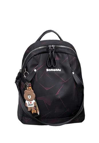 TCWK black TCWK Korea Style Women Fashion Backpack - Black 1CA64AC243ADB2GS_1