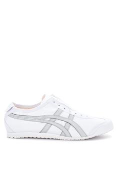 sale retailer e5388 9e9b8 Onitsuka Tiger white Mexico 66 Slip-On Sneakers FF951SH2A85619GS 1