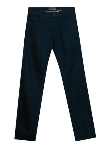Jimmy Martin navy Basic Slim Stretch Denim Pants C3181AA4D5DA01GS_1