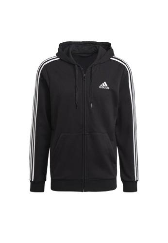 ADIDAS black adidas M 3S FT FZ HD 32B7DAA9752579GS_1