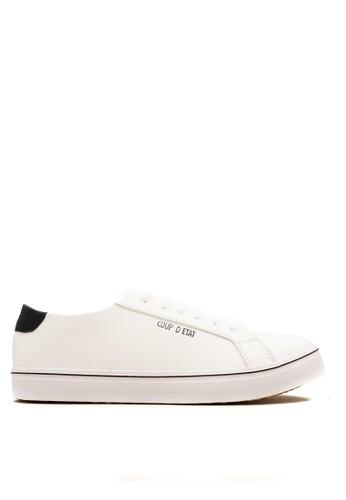 CDE white CDE Ceremonial Men Sneaker - White/Black Special F1FAFSH8DB98C3GS_1