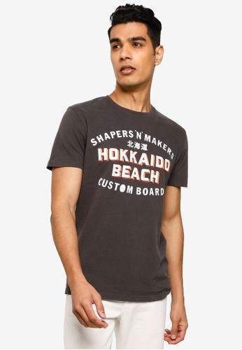 SUPERDRY black Shapers N Makers Tee 48855AA5B0B8FBGS_1