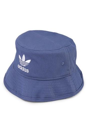 ADIDAS blue adicolor trefoil bucket hat F0D35AC96A9F88GS_1
