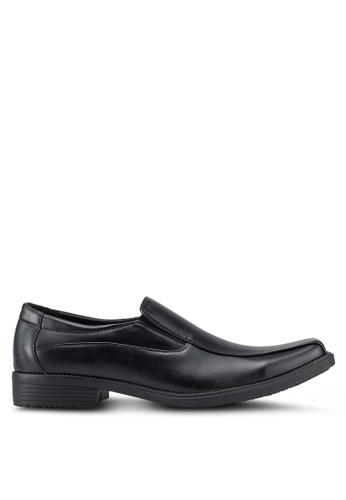 Rocklander black Formal Slip On Shoes 7EE64SHA876D8DGS_1