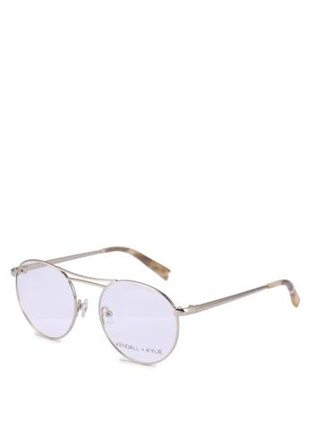 Kendall + Kylie gold Nikki (50) Glasses E8666GLAFF2C8DGS_1