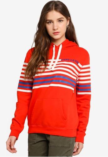 GAP orange Casual Pullover Hoodie 5703AAA73D45B5GS_1