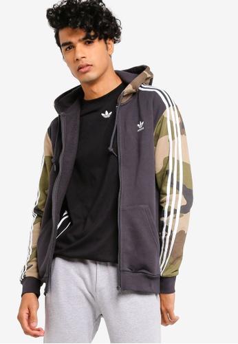detailing 65a03 7411b adidas black adidas originals camouflage hoodie ECCB2AAA5DC02BGS 1