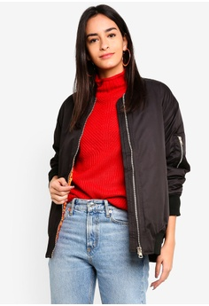 e522ca30f60 Buy Bomber Jackets For Women Online on ZALORA Singapore