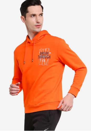 361° orange Basketball Series Hoody C9CAAAA085BD23GS_1