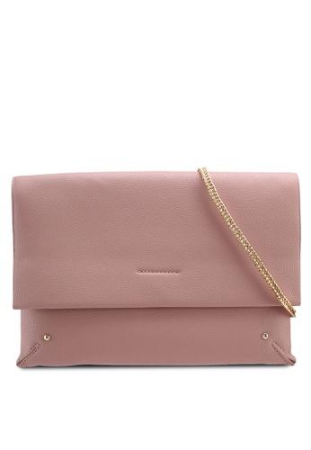 TOPSHOP pink Leila Clutch 2E481AC289F1AFGS_1