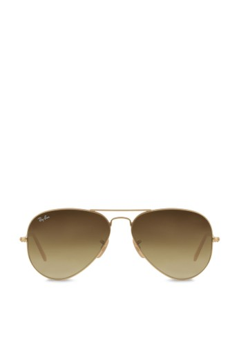 Ray-Ban multi and gold Aviator Large Metal RB3025 Sunglasses  RA941GL41OHUID 1 cb6d05bcc5