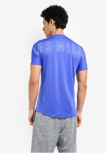 Reebok blue Les Mills Activchill Tee RE691AA0SVXVMY_1