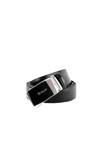 Valentino Rudy black Valentino Rudy Italy Men's 36mm Leather Auto Gear Buckle Belt 0463002-317 EBED8AC91F2855GS_1