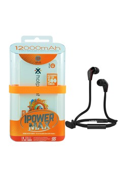 Powerbank 12000mAh with FREE Langsdom Jm12 Earphone