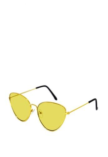 Kallisto yellow Chelsea Sunglasses 45953GLC309C53GS_1