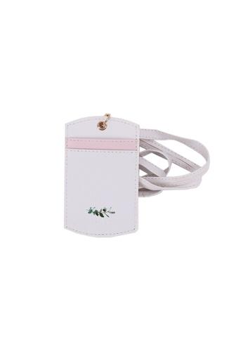 Klosh white Morandi Collection - Leaf Lanyard 8EBFEACB88D4A3GS_1