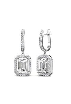df9341351 Her Jewellery silver Earrings Regal Hoop embellished with Crystals from  Swarovski HE581AC0RAJ0MY_1