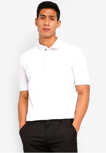 SPARROW GREEN 白色 刺繡POLO衫 1CE3AAA8716286GS_1
