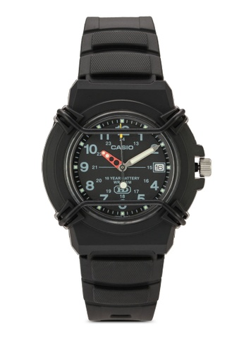 Casio black Casio Enticer Analog Black Dial Men's Watch - HDA-600B-1BVDF CA843AC45YQCMY_1