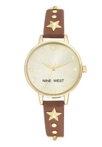 Buy Nine West Nine West Strap Women S Watch Nw 2126chbn Online