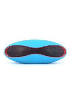 Mini-X6U Rugby Ball Style Portable Bluetooth Speaker