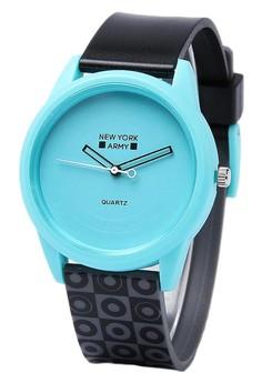 Newyork Army Green Moon Aultier Watch
