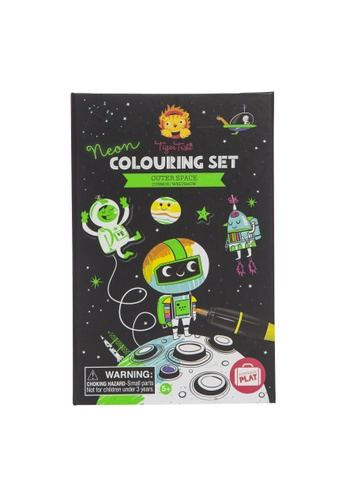 Tiger Tribe Neon Colouring Set - Outer Space 3DDDFTH18E0734GS_1