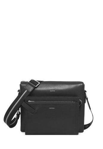 BONIA black Black Fabian Crossbody Bag M 53152AC11D87B6GS 1 45bff7882fbf8