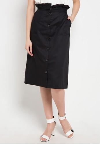 Noche black Ariana Skirt 39E57AAE24A730GS_1