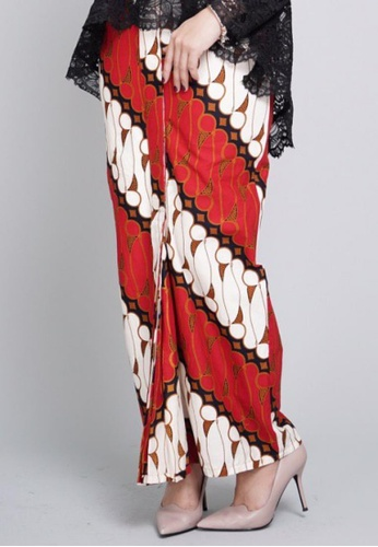 ROSSA COLLECTIONS black and white and brown CLARISSA SERIES in Red for Lady E3C30AABDDE34BGS_1