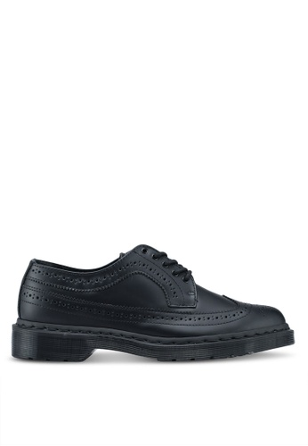Dr. Martens black Core Originals 3989 Mono Brogue Shoes DR086SH0SX62MY_1