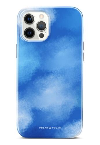 Polar Polar 藍色 夏之彩雲雙層光面手機殼 iPhone 12 Pro Max FC5E5AC0552F7BGS_1