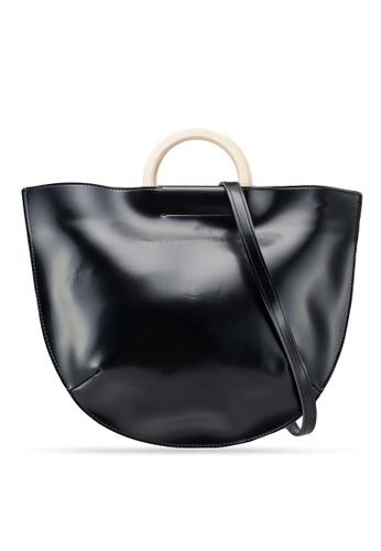 Berrybenka black Meghan Decca Top Handle Bag C5CFAACF412C3EGS_1