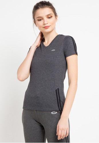 OPELON grey Short Sleeve Top 5F44BAA8F23535GS_1