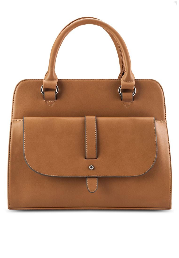 Flap Front Pocket Career Bag