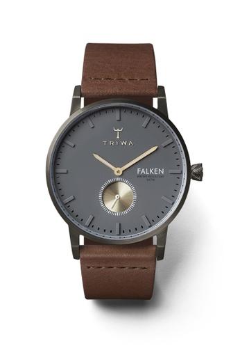 TRIWA grey and brown Walter Falken Brown Classic TR990AC28BYPHK_1
